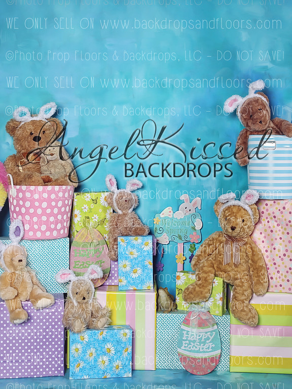 A Beary Hoppy Easter 4 - 60x80 (Vertical Design)