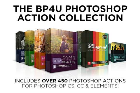 The BP4U Photoshop Action Collection - outside site