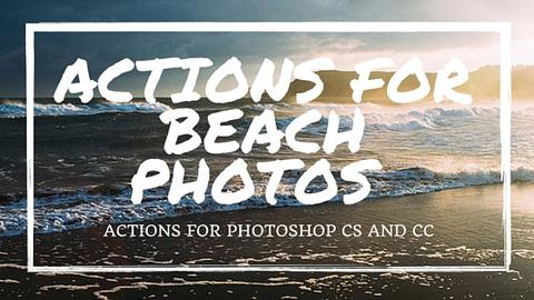 Actions for Beach Photos - outside site