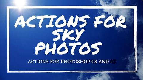 Actions for Sky Photos - outside site