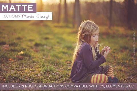 Matte Actions Made Easy! - outside site