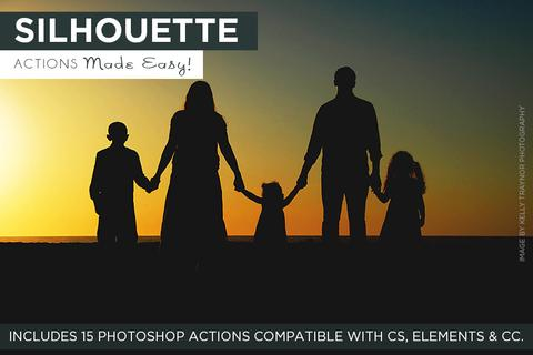 Silhouette Actions Made Easy! - outside site