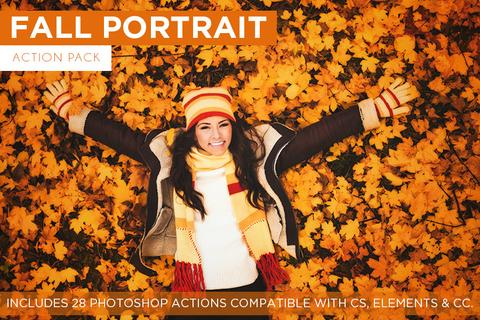 Fall Portrait Action Pack - Outside Site