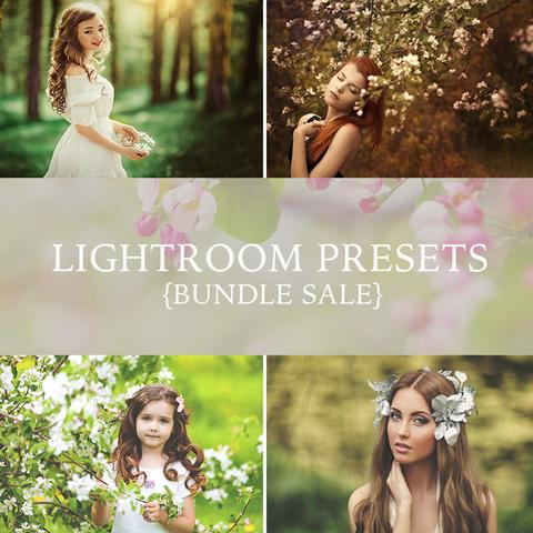 Over 300 Lightroom Presets & Brushes from Urban Bloom Actions - outside site