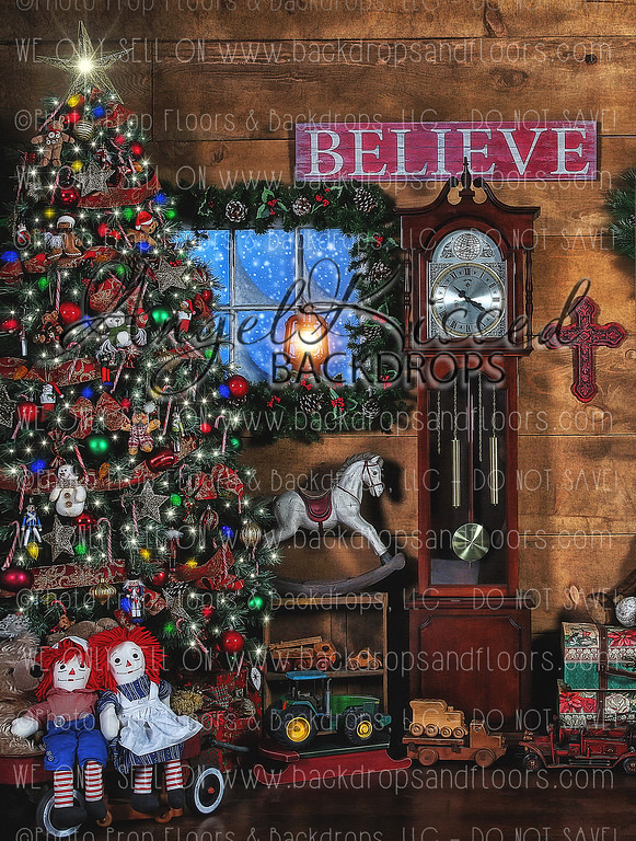 Believe 2 - 60x80 Fleece (Vertical Design)