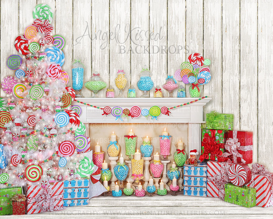 It's a Lolly Jolly Christmas - 10x8 (Horizontal Design)