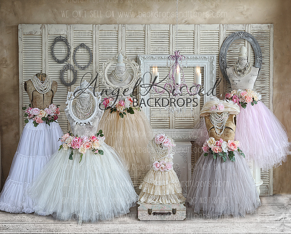 Shabby Chic Boutique - 10x8 (Horizontal Design)