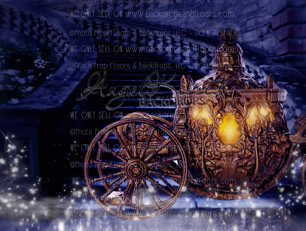 The Golden Carriage - 60x80 (Horizontal Design)