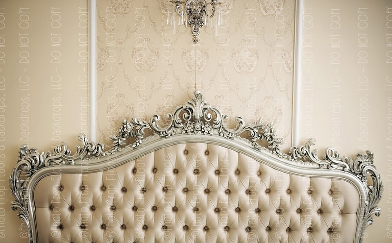 Vintage Headboard Horizontal Design
