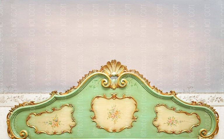 Vintage Headboard 4 (Horizontal Design)