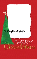 Christmas Hand-Drawn Holiday Card Template by Rachel Hood Artist Visual Designer