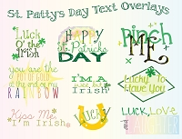 St. Patrick's Day Overlays by Rachel Hood
