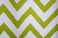 Lime & White Chevron Fabric Photography Backdrop