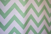 Mint & White Chevron Fabric Photography Backdrop