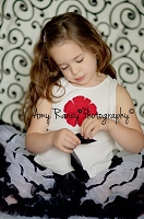 White with Black Swirls Fabric Photography Backdrop