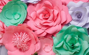 Paper Flowers 11