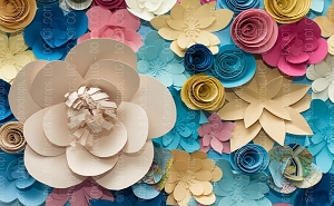 Paper Flowers 8