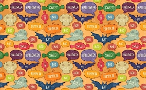 Halloween 50 (Horizontal Design)