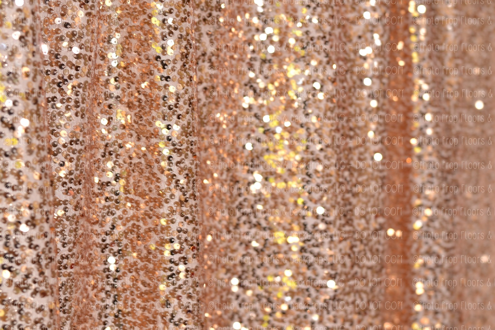 Rose gold shimmery sequin fabric photography backdrop for Sparkly material