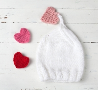 (TP) Heart Drop Valentines Hat