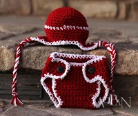 (TP) Holiday Earflap Hat Set