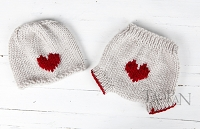 (TP) Little Love Valentines Knit SET