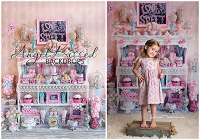 Sweet Love Candy Shop 1 - 60x80 (Vertical Design)