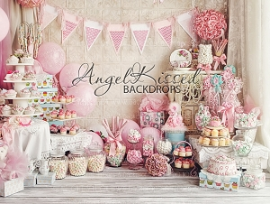A Babycake Birthday 1 - 80x60  (Horizontal Design)