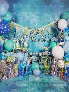 A True Blue Birthday 1 - 60x80  (Vertical Design)