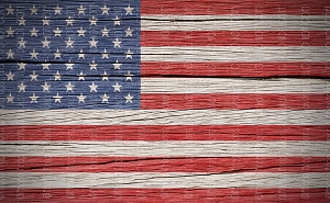 American Flag 16 (Horizontal Design)