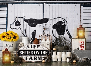 Better on the Farm 1 (Horizontal Design)