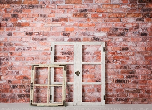 40% OFF SALE: Brick and Window 1 (Horizontal Design)