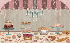 Bake Shop (Horizontal Design)