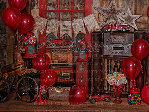 Bubble Gum and Balloons 2 - 80x60 (Horizontal Design)