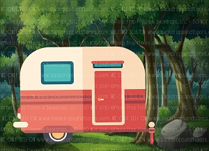 Camping 9 (Horizontal Design)