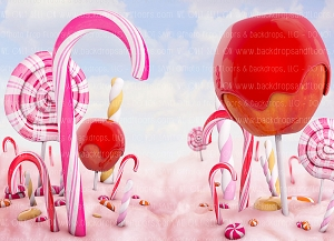 Candy Land 1 (Horizontal Design)