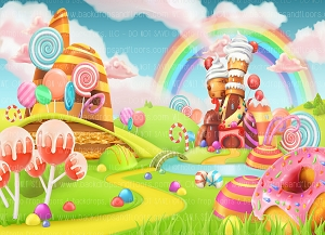 Candy Land 2 (Horizontal Design)
