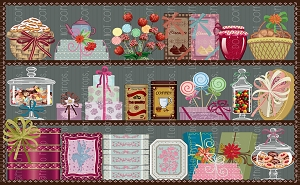 Candy Shop 2 (Horizontal Design)
