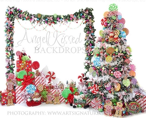 Candy Tree Christmas 5 10x8 (Horizontal Design)