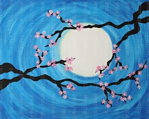 Cherry Blossoms 3 (Horizontal Design)