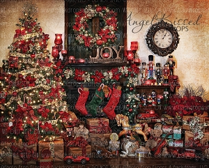 Christmas at Nana's 10x8 (Horizontal Design)