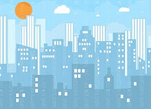 Cityscape 21 (Horizontal Design)