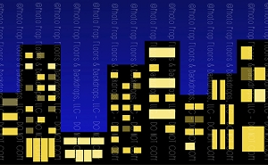 Cityscape 3 (Horizontal Design)