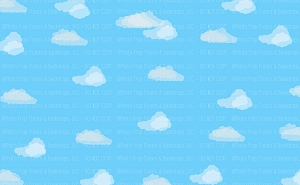 Clouds 3 (Horizontal Design)