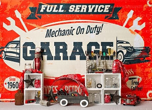 Dads Garage 2 (Horizontal Design)