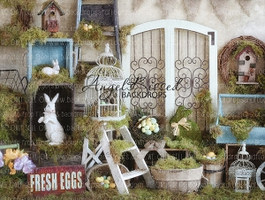 Easter at Andys 2 - 80x60 (Horizontal Design)