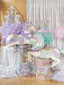 Equestrian Princess 2 - 60x80  (Vertical Design)