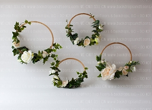 Floral Hoops 1 (Horizontal Design)