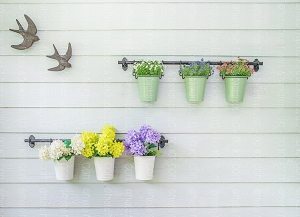 Flower Pots 4 (Horizontal Design)