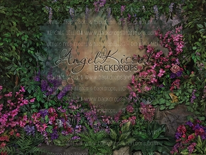 Flowers and Fairies 1 - 80x60 (Horizontal Design)